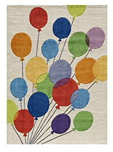 Lil Mo Up, Up and Away Rug (Multi)