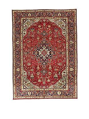 L'EDEN DEL TAPPETO Alfombra M.Tabriz Rojo/Multicolor 206 x 290 cm