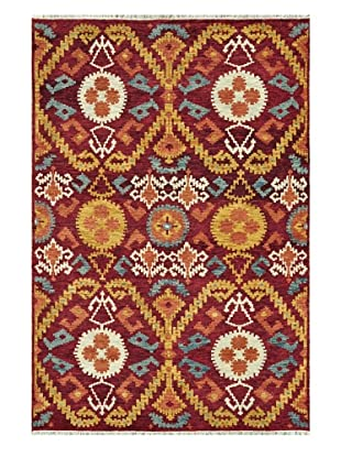 Loloi Rugs Spencer Rug (Crimson/Gold)