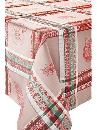 Garnier-Thiebaut Milles Noël Table Cloth (Chalet)