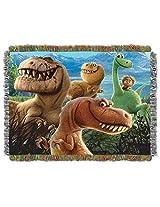 Disney Pixar's The Good Dinosaur, Dino Mash Woven Tapestry Throw by The Northwest Company, 48