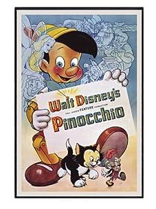 "Pinocchio, 24""x 16"""