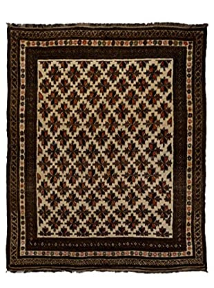 Solo Rugs One-of-a-Kind Tribal Rug, Ivory, 6' 8