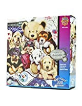 300-Piece Puppy Party Puzzle Art by Jenny Newland