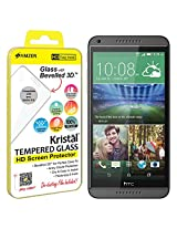 Amzer Kristal Tempered Glass HD Screen Protector for HTC Desire 816/816D/816G - Retail Packaging - HD Clear