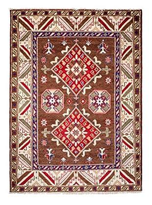 Darya Rugs Kazak Oriental Rug, Brown, 8' 1