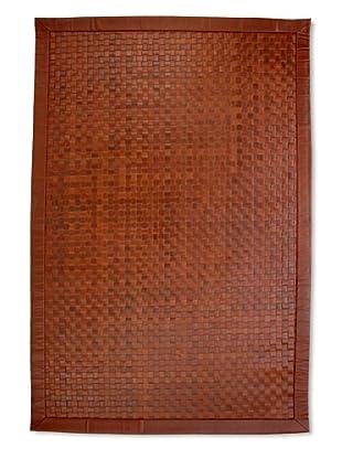 Natural Rugs Cheyenne Leather Rug (Dark Cognac)