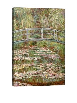 Claude Monet's Bridge Over a Pond of Water Lilies (1899) Giclée Canvas Print