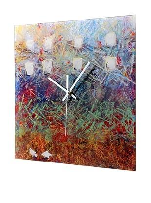 HangTime City Birds Wall Clock