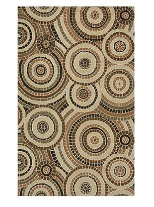 Momeni Veranda Collection Mosaic Rug (Multi)