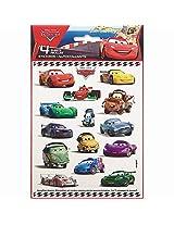 Disney Pixar Car Stickers (Pack of 4)