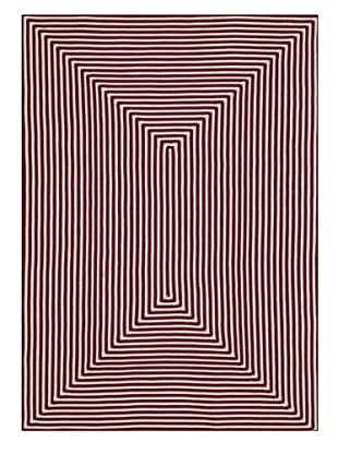 Stripes Indoor/Outdoor Rug (Red)