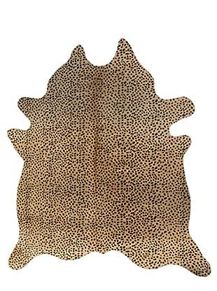 Natural Brand Togo Cowhide Rug, Cheetah, 6' x 7'