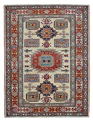 Kalaty One-of-a-Kind Kazak Rug, Ivory, 3' 4
