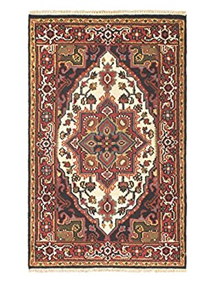 Hand-Knotted Heriz Select Wool Rug, Red, 3' x 5'