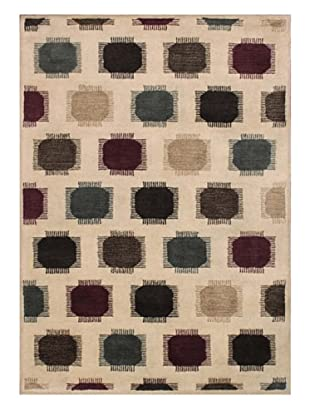 Mili Designs NYC Blurry Dots Rug, 5' x 8'