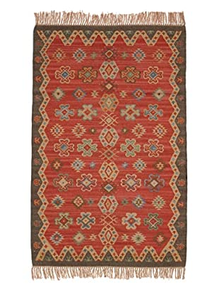 Classic Home Sara Rug (Red/Multi)