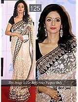 Bollywood Designer Sridevi Zal Net Fabric Saree