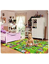 Butterfly 100% Waterproof, Double Side Baby Play & Crawl Mat (6 ft x 5 ft) (Colour & Design may vary)