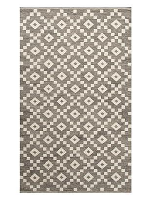 Jaipur Rugs Flat-Weave Durable Rug (Gray/Ivory)