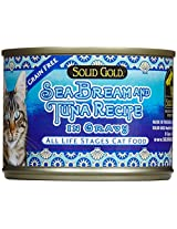 Solid Gold Sea Bream and Tuna Canned Cat Food, 170 g