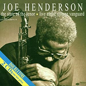 ♪State of the Tenor [CD, Import, from US, Live] /ジョー・ヘンダーソン | 形式: CD