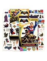 Batman V Superman: Dawn Of Justice ~ Tattoos And Stickers Party Favor Pack (300 Stickers & 75 Temporary Tattoos) Batman, Superman, Wonder Woman, And More!