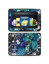 "Kindle Fire HD 8.9"" Skin Kit/Decal - Peacock Garden - Juleez (will not fit HDX models)"