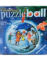 60 Piece 3d Holiday Puzzleball