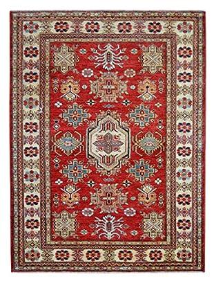 Kalaty One-of-a-Kind Kazak Rug, Red, 4' 2