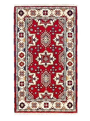 Hand-Knotted Royal Kazak Wool Rug, Red, 3' x 5'