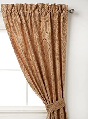 Waterford Linens Callum Curtain Panel, Spice, 50