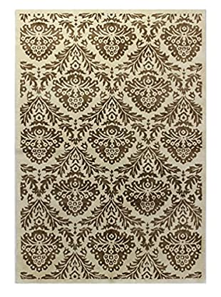 Bashian Rugs One-of-a-Kind Hand Knotted Rug, Beige, 6' x 8' 9