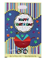 Karmallys Printed Plastic Bag Happy Birthday Print