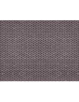Model Train Scenery Sheets G Scale Black Brick