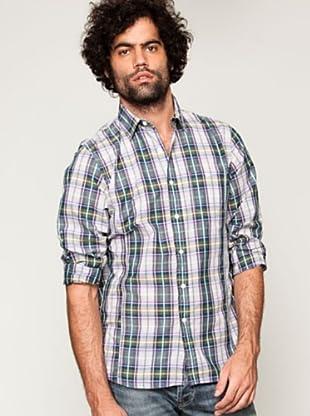 Springfield Camisa (Verde / Morado)
