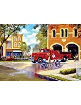 Hometown Heroes - 500 Piece Jigsaw Puzzle from the Days to Remember Collection by Buffalo Games