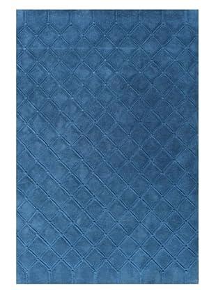 DAC Alfombra Capitone Azul 170 x 240 cm, diseñada por Jordi Labanda