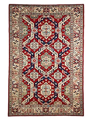 Darya Rugs Shirvan Oriental Rug, Red, 5' 9