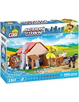 COBI Action Town Farm Watermill Building Kit