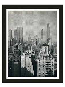 Thom Felicia-Black Dots on Rockefeller Plaza II, B