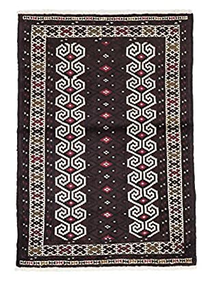 Darya Rugs Authentic Persian Rug, Red, 2' 8