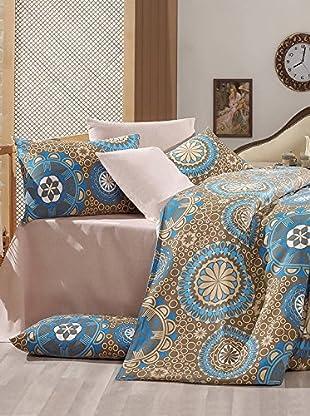 Colors Couture Bettdecke und Kissenbezug Mira