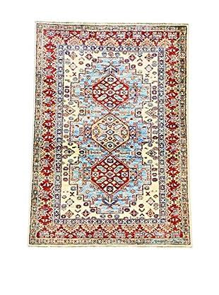 L'EDEN DEL TAPPETO Alfombra Ghazni Super Azul/Multicolor 98 x 138 cm