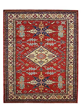 Kalaty One-of-a-Kind Kazak Rug, Red, 4' 9