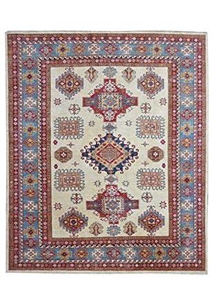Kalaty One-of-a-Kind Kazak Rug, Ivory, 7' 9