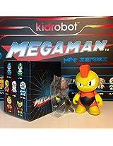 """Kidrobot MEGA MAN Mini Series 3"""" Vinyl Figure - BOMB MAN"""