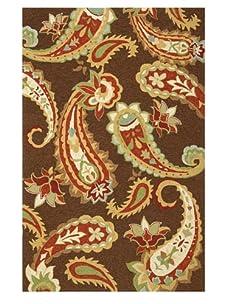 Jaipur Rugs Acacia Hand Hooked Rug (Cocoa Brown)