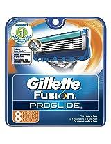 Gillette Fusion Proglide FlexBall Manual Shaving Razor Blades - 8s Pack (Cartridge)