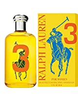 Ralph Lauren Big Pony Collection For Women 3 Yellow Eau De Toilette Spray - 50ml/1.7oz